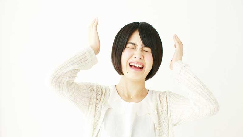 血流障害をを引き起こす生活習慣①精神的ストレスが多い